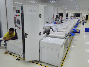 Air purifier assembly line