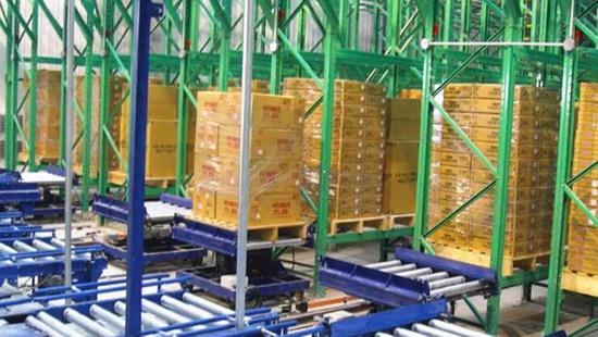Logistics conveyor line