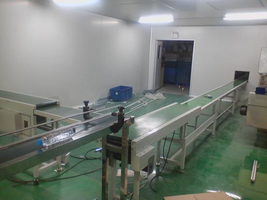 Telescopic belt line