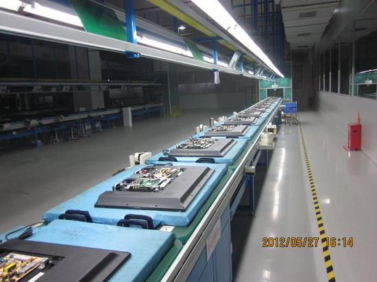 Electronic assembly line