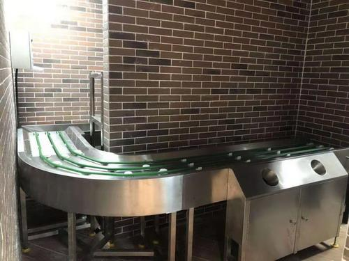Plate recycling line