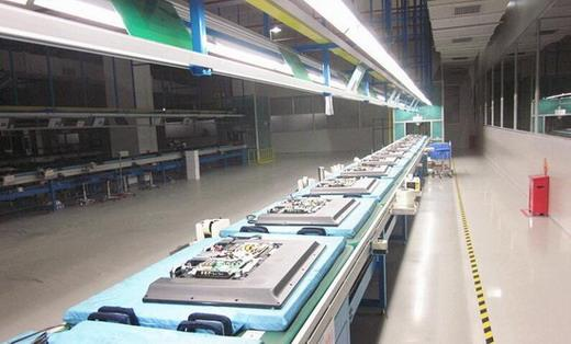 Hanging chain conveyor line safety precautions
